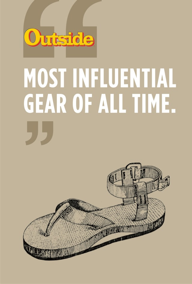 Named most influential gear of all time by Outside Magazine.