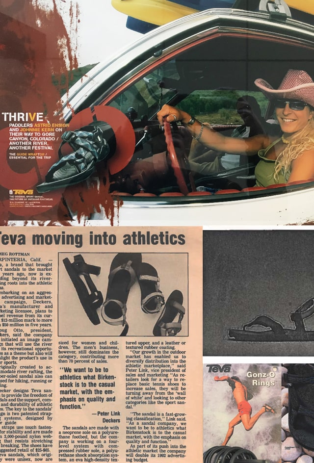 Historical Teva newspaper clippings.